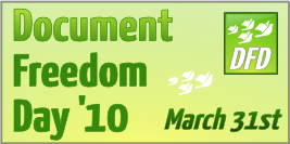 Document Freedom Day March 31, 2010